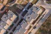Aerial view of a Wroclaw city suburbs — Stok fotoğraf