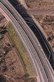 Veduta aerea di autostrada — Foto Stock