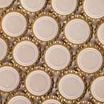 Golden bottle caps — Stock Photo #69093039
