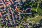 Flygfoto över Olesnica city — Stockfoto