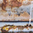 Colorful Rusty metal corrosion wallpaper backdrop — Stock Photo #70755707