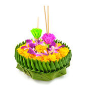 Loy Kratong Festiva — Stock Photo