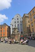 Stortorget -  small public square in Stockholm, Sweden — Stockfoto