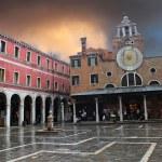 ������, ������: Venice on a rainy day