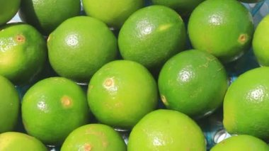 The lemon in the basket — Stock Video