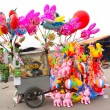 Toys selling on the street in Asia — Stock Photo #54355559