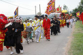 People attended traditional festival — Stockfoto