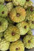 заварной крем apple фрукты — Стоковое фото