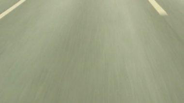 Cenes de carros correndo — Vídeo stock