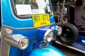Close up of Tuk Tuk  — Stock Photo