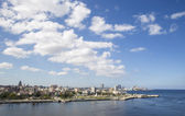 Clouds over the Havana Bay — Stock Photo