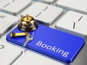 Online Booking concept — Stock Photo