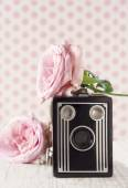 Old classic nostalgic camera1 — Stock Photo