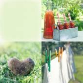Photo collage10 — Foto de Stock