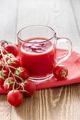 Succo di pomodoro — Foto Stock