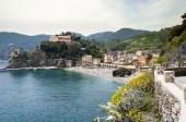 Monterosso village in Cinque Terre, Italy — Stock Photo