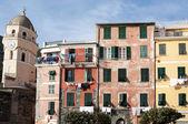 Vernazza houses — Stock Photo