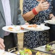 Catering at wedding reception — Stock Photo #61485353