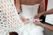 Preparation to wedding — Stock Photo