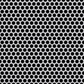 Shiny silver metal pattern with reflective round holes  — Stock Photo