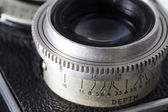 Depth of field of old camera — Stock Photo