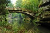 старый мост — Стоковое фото