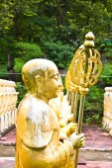 Statue golden buddha — Stockfoto