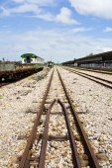 Railways train — Stock Photo