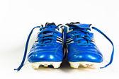 Football shoes isolated — Zdjęcie stockowe