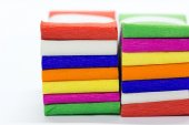 Color variety  ribbon bow — Stock Photo