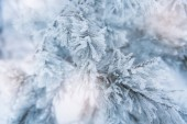Rough blue holiday cover with many snowflakes  — Stock Photo