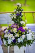 Large bouquet of flowers composition — Stock Photo