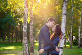 Attractive young couple in love  — Stock Photo