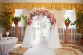 Huwelijksboog — Stockfoto