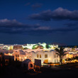 Night view of the Egyptian city of Sharm El Sheikh — Stock Photo #57397935