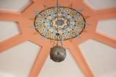 Round lamp in Arabic style — Stockfoto