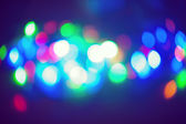 Holiday background bokeh colorful bright — ストック写真