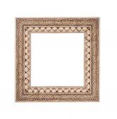 Frame isolated on a white background stone — Stock Photo