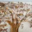 Tree made hands on the wall painting — Stock Photo #64622899