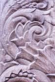 Closeup sculptural sculpture, bas-relief — Stock Photo