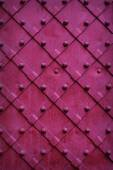 Texture chipped metals doors dark red color — Foto de Stock