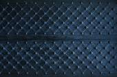 Texture of dark wooden gate with metal strips chipped — Stock Photo