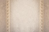 Beautiful architectural frame, wall texture — Stock Photo