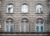 Beautiful architecture of the old building — Stock Photo