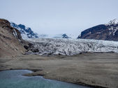 Mouth of Skaftafell Glacier — Stock Photo