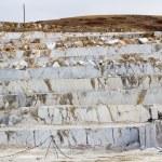 Marble quarry, white marble — Stock Photo #58749647