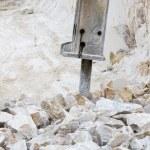 Marble quarry, white marble — Stock Photo #58749977