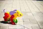 Çocuk ahşap oyuncak — Stok fotoğraf