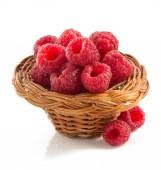 Raspberry  on white background — Stock Photo