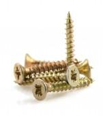 Metal screws tool on white  — Stock Photo
